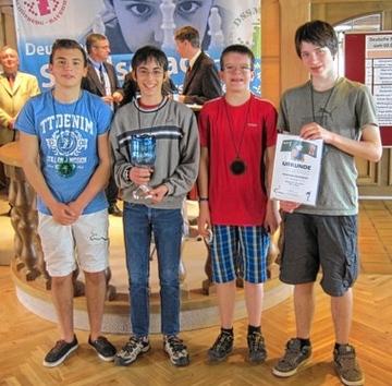 Markus, Ramon, Carsten und Julius (v.l.n.r.)