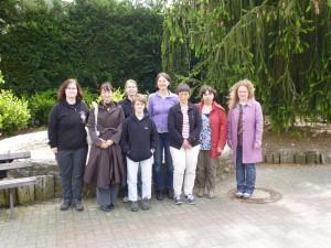 Unser fast komplettes Frauenteam (fehlend Olga)